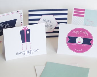 Greeting Card Value Assortment: Get Well, Thinking of You, Happy Birthday, Baby, Kids Birthday and Thank You! 25 Occasion Card Designs!!
