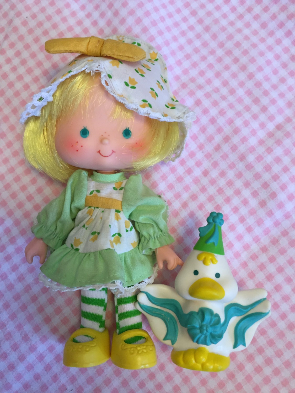 Strawberry Shortcake Doll Mint Tulip Party Pleaser with Marsh
