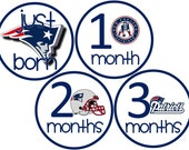 New England Patriots Baby Belly Stickers