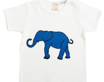 Elephant organic T shirt