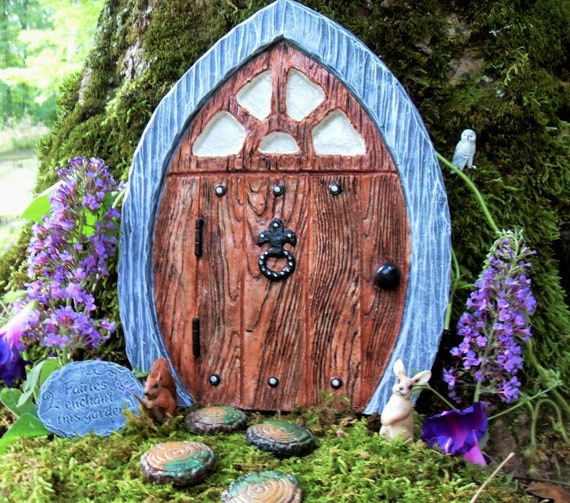 Large fairy doorgnome doorlarge elven fairy by for Large gnome doors