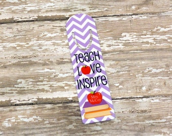 TEACHER Gift-Choose design-Bookmark-Christmas Gift-Teacher Appreciation-Back to School -End of the Year Gift -Thank You Gift