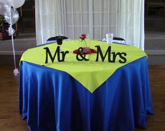 Wedding signs Mr & Mrs signs for wedding wooden letters for wedding table  decoration wedding sign