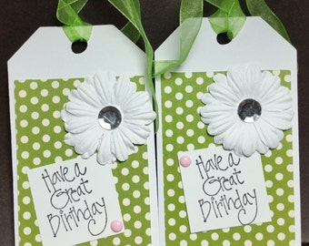 BIRTHDAY TAGS -A101