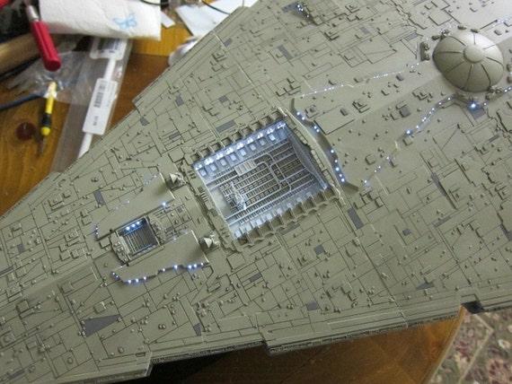 Huge Star Wars Imperial Star Destroyer Model Kit W