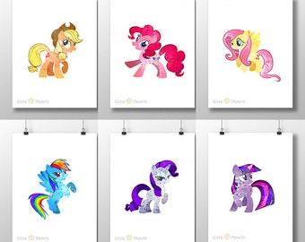 Pony Friends Print Set