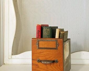 Vintage Shop Drawer, metal and wood, industrial drawer, 10 x 5