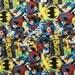 Batgirl cotton fabric-DC Comics, superhero, comic book, nerd, geek, fat quarter, quilting, retro, gamer