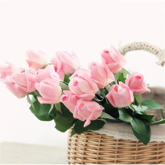 15 festen polystyrol styropor mittlerer rose blume knospe. Black Bedroom Furniture Sets. Home Design Ideas