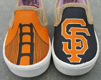 SF Giants Custom Shoes Various Designs!