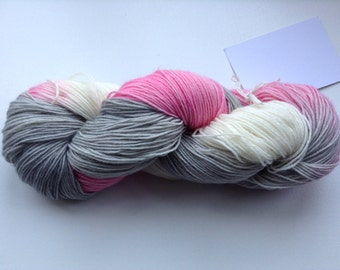 Sock weight 4ply hand dyed yarn