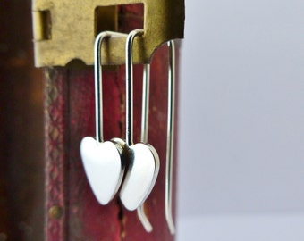 Dinky Heart Drop Earrings