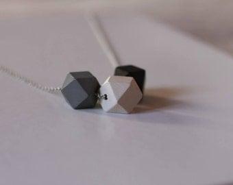 Angular necklace