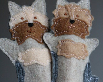 Custom Dog Felt Finger Puppets to look like YOUR dog