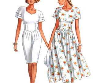 New Look Sewing Pattern 6536 Misses' Dress  Size:  A  6-16  Uncut