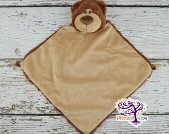Bear Animal Lovey Blanket
