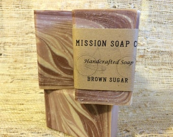 Brown Sugar Soap