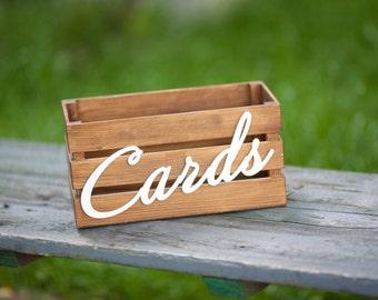 Wedding Card Box, Rustic Wedding Decor, Wedding Card Holder, Rustic Card Box, Gift Card Box, Gift Card Holder, Rustic Wedding Box, Wedding
