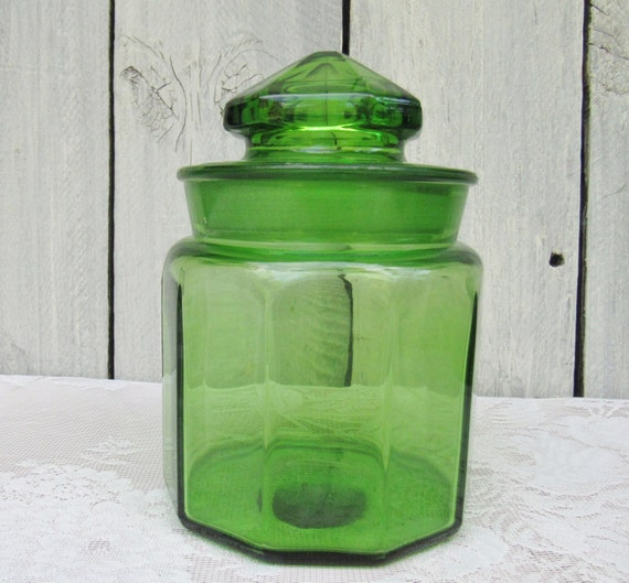 lime green glass jar vintage kitchen canister jar l by modern lime green kitchen canisters quicua com