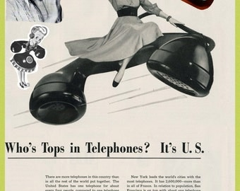 GTE Telephone Push Button Model 80 1981