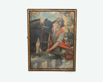 40's Hy.Hintermeister framed print