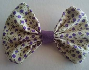 Fabric Ditsy Hair Bow