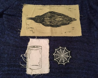 Lot Of Three Interesting Odd Patches (that fix)