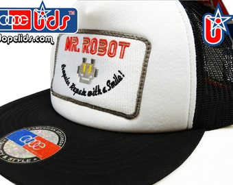smART-patches Mr. Robot Patch Trucker Hat Cap