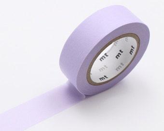 MT Pastel Purple Lilac Washi Tape - MT Masking Tape