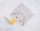 SCRATCHFISH (pez raya)-towel for Beach FISH