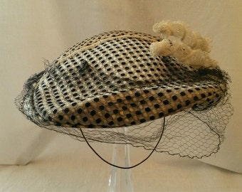 art deco headpiece hat
