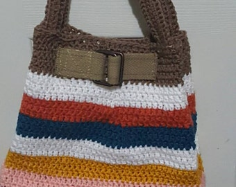 Medium crochet purse