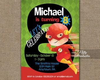 Th Birthday Invitation Construction Birthday Invitations - Birthday invitation card for 8 year old boy