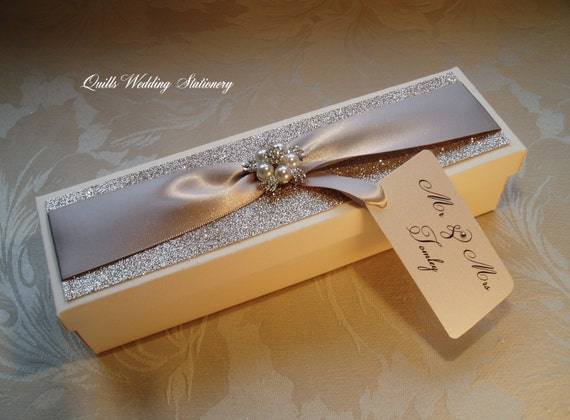 Luxury Wedding Gift Ideas: Luxury Wedding Certificate Box. Marriage Certificate Box