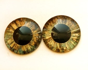 Hand painted eye chips for Blythe Distinctive,
