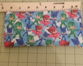 PJ Masks Print Fabric Pencil Pouch Last one!