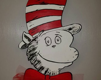 Cat In The Hat door/wall hanger