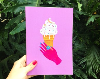 ICECREAM A5 notebook - 48 pages