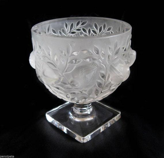 Snap Lalique Vase Etsy Photos On Pinterest
