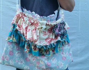 Shabby Ruffle Bag