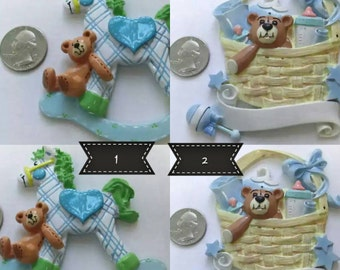 Baby Shower Mold Silicone Mold Soap Plaster Cold Gumpaste Chocolate