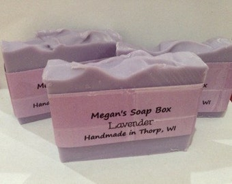 Lavender Soap Vegan all natural soap, made with essential oil
