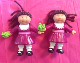 Christmas Cabbage Patch Figurines 2