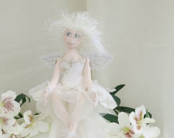 Snow Fairy Cloth Doll