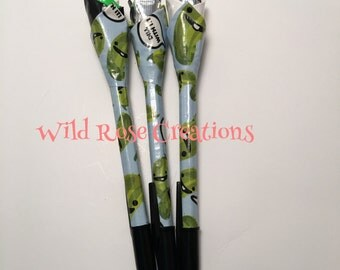 Duct Tape Pen- Dill Pickle Print