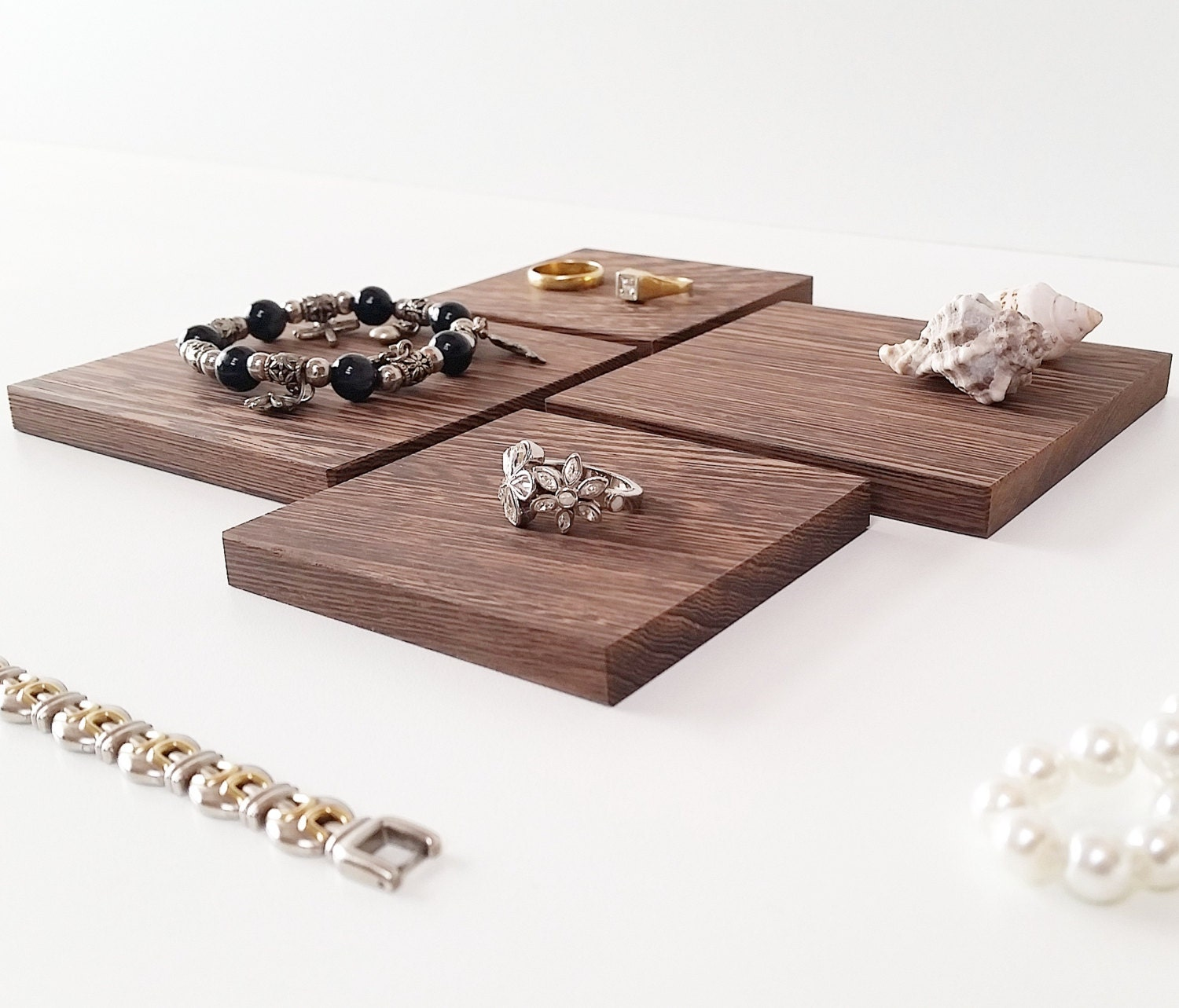 Make Your Own Jewellery Display Board: Jewelry Display Board Set For Craftshow Etalage Wenge Wood