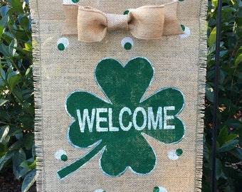 St  Patricks Day Garden Flag