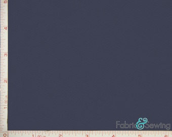 """Navy Dimple Mock Mesh Sport Fabric 2 Way Stretch Polyester 6.5 Oz 58-60"""""""