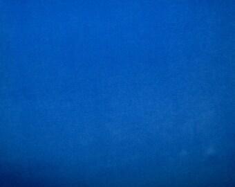 Fabric - Stretch velvet fabric - royal blue