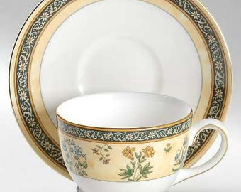 Wedgwood 'India' Cup & Saucer Set